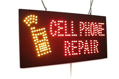 Cell Phone Repair Neon Sign Led Open Sign Store Sign Business Sign Window Sign