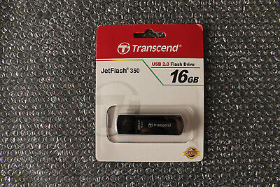 Transcend 2 Gb Usb (Transcend USB 2.0 JetFlash 350, 16 GB USB-Stick NEU OVP)