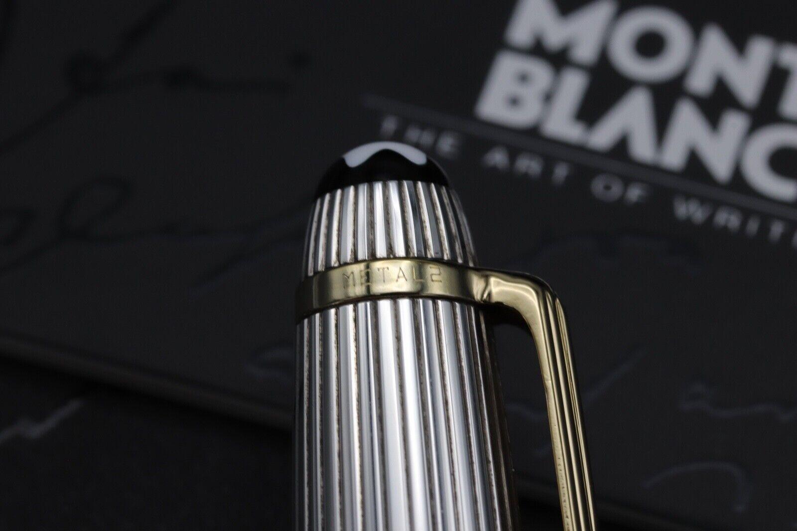 Montblanc Meisterstuck Solitaire Doue AG925 163 Classique Rollerball Pen 6