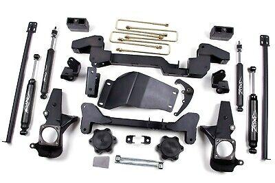 """Zone Offroad 6"""" Suspension Lift Kit SILVERADO SIERRA 2500HD 3500HD (01-10) 4WD"""