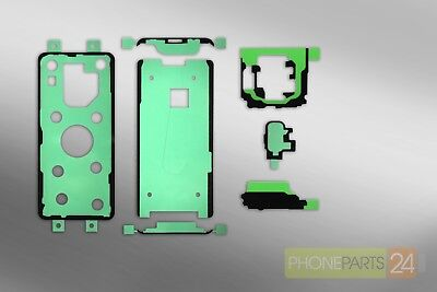 Samsung GALAXY S9 G960 LCD Backcover Kamera Touch ID Sticker Kleber Set Samsung Lcd Back Cover