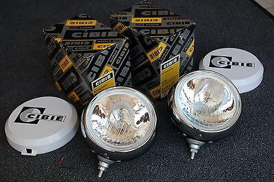 2 Stück Original Cibie Oscar Zusatzscheinwerfer Scheinwerfer Rallye Racing