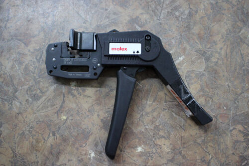 MOLEX 0638194800  28 AWG Side Entry Ratchet Hand Crimper - Rectangle Contacts