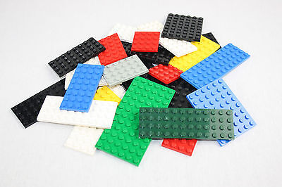 Lego® Platten 25 Stück Sammlung Konvolut Bauplatten bunt gemischt City gereinigt online kaufen