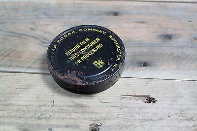Vintage Eastman Kodak Company Film Container Tin