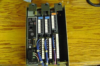 Allen Bradley Mini Plc 205 With Power Supply And Io Cards