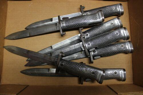 1 VINTAGE Military Issue M1 GARAND BAYONET Short Blade Knife B-Grade Used 1