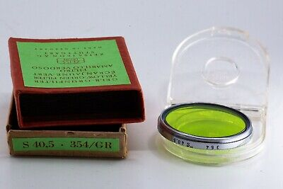 Zeiss Ikon 354 GR 40.5mm screw-in green filter
