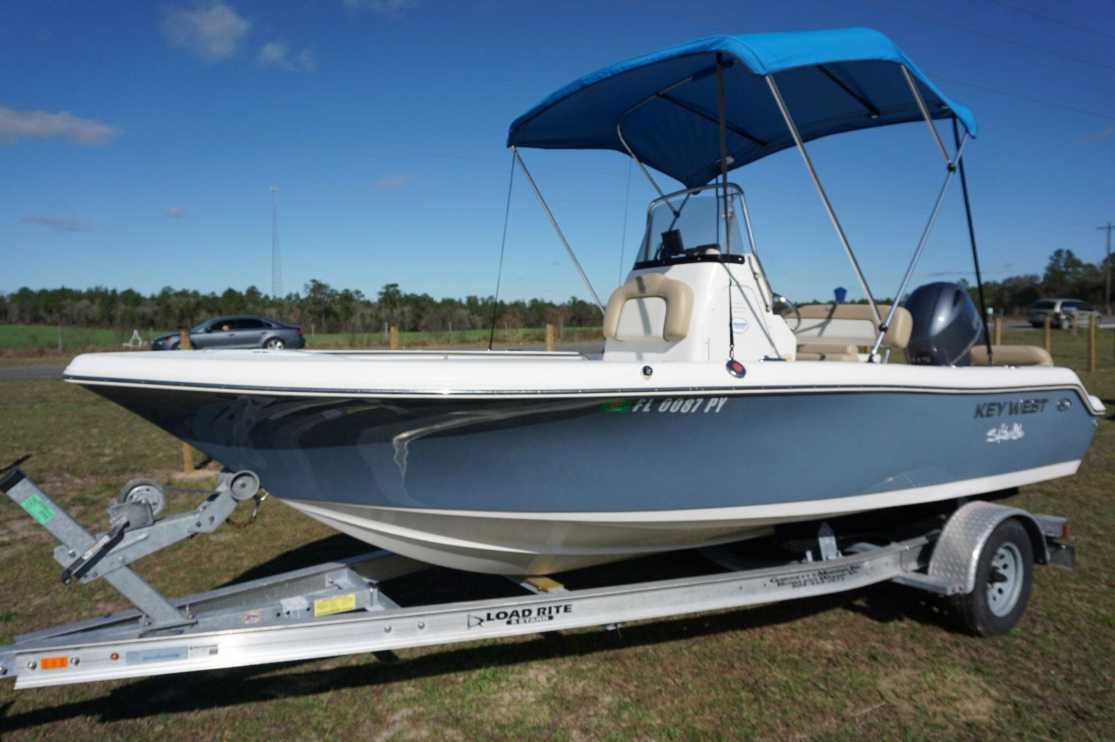 2015 Key West 19'  Center Console