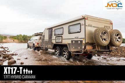 2018 MDC XT-17T Hybrid Pop Top Caravan Garbutt Townsville City Preview