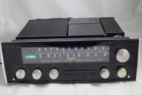 Vintage McIntosh MX113 Stereo Tuner Preamplifier