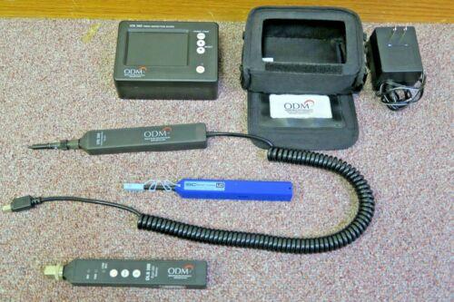 ODM VIS300 Fiber Optic Testing Kit w/ VIS300 Inspection Scope, DLS350 & Cleaner