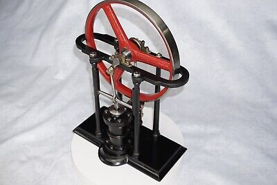 Antique Vertical Steam Engine