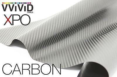 VVIViD Dry Silver Carbon Fiber FULL CAR WRAP Vinyl 50ft x 5ft decal 3mil sticker