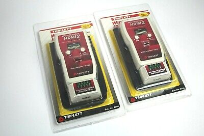 Triplett Wiremaster Hdmi2 High Definition Cable Tester Cat No. 3256 Lot Of 2