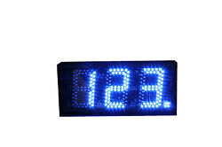 5 Blue LED Digital Days or Seconds Countdown/up Counter and Timer Stopwatch IR