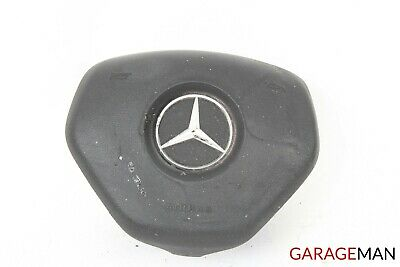 12-16 Mercedes W218 CLS500 CLS550 Steering Wheel Airbag Air Bag SRS Black OEM