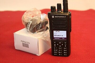 Motorola Xpr7580e Digital Radio 800900mhz With New Charger Part Aah56ucn9wb1an
