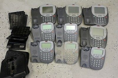 Lot Of 9 Avaya 5410 5420 Phones.700382005 700381627 Was Just Removed