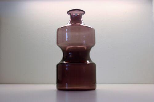Purple vintage design decanter bottle, Timo Sarpaneva, Iittala Finland