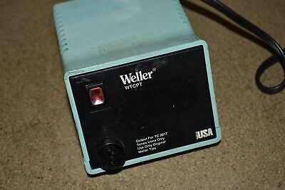 Weller Wtcpt Soldering Iron Station Tq107