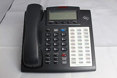 Lot 10 Esi 48 Key H Dfp Business Office Phones W Stands And Handsets