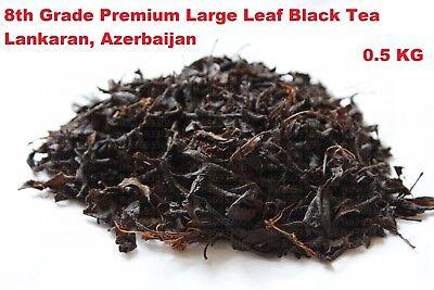 0.5 KG Black Leaf Tea Azerbaijan Lankaran Chay Premium Best Quality Organic