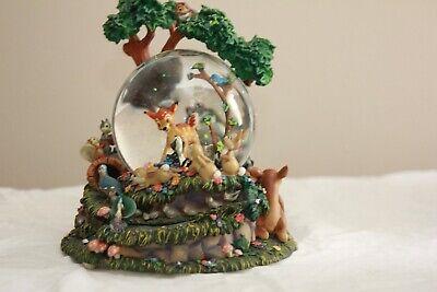 Disney Bambi Rare Snow Globe Mint Condition