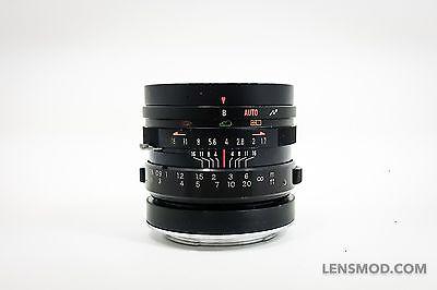 Yashinon DX 45mm F/1.7 Black (EX+)  Modified to Sony E-mount (Full Frame)