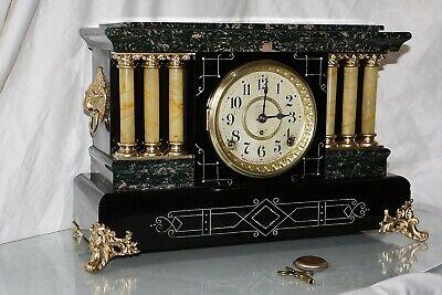 "ANTIQUE SETH THOMAS SHELF MANTLE CLOCK-Totally!!-Restored- c/1900 ""UNLISTED No.1"
