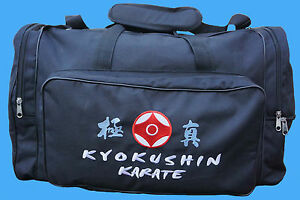 KYOKUSHIN KARATE SPORTSBAG,KYOKUSHINKAI,OYAMA, BUDO, JAPAN