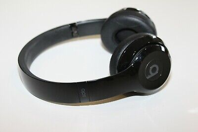 Beats by Dr. Dre Solo3 Wireless On Ear Headphones Gloss Black GENUINE AUTHENTIC