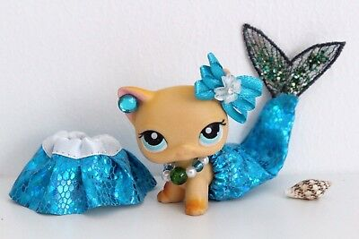 / NEW / LPS ❤️ Accessories ❤️ Mermaid Siren Costume Outfit For Littlest Pet Shop - Mermaid Costume Accessories