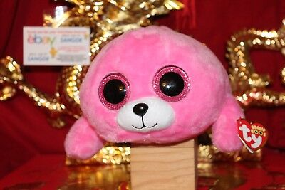 "Ty BEANIE BOOS PIERRE THE SEAL~MEDIUM BUDDY-4""X13""-2016 RELEASE-MWNMT-NICE GIFT"