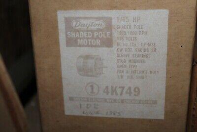 Dayton 4k749 Electric Motor 115hp 15001000rpm 115v Cwse