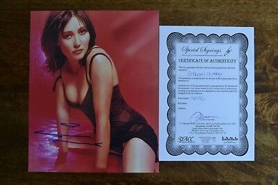 Shannon Doherty. Signed, Certified Colour Photograph