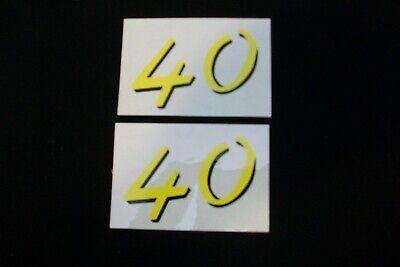 John Deere 40 Decal - Mylar