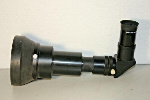 60mm 90 Degree Finder Scope Erect Image Focusable Eyepiece f/3.5