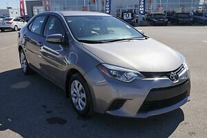 2014 Toyota Corolla CE Low Km's,Bluetooth, Back up camera, Re...