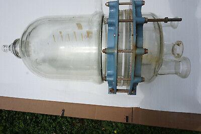Buchi Duran Glass Pilot Reactor 20 Liter Cover Lid Top 4-neck