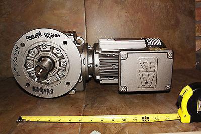 Sew-eurodrive Gearmotor Sf57dt80k4-ks  38.231 34 Hp 230460 Vac Warranty