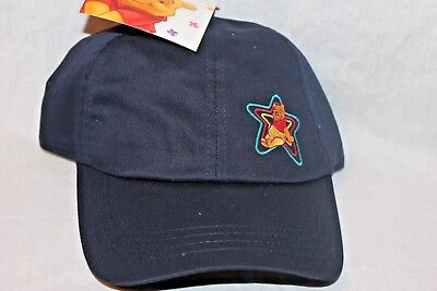 NEW  WITH TAG  WINNIE THE POOH  AND FREINDS KIDS BLUE STAR CAP