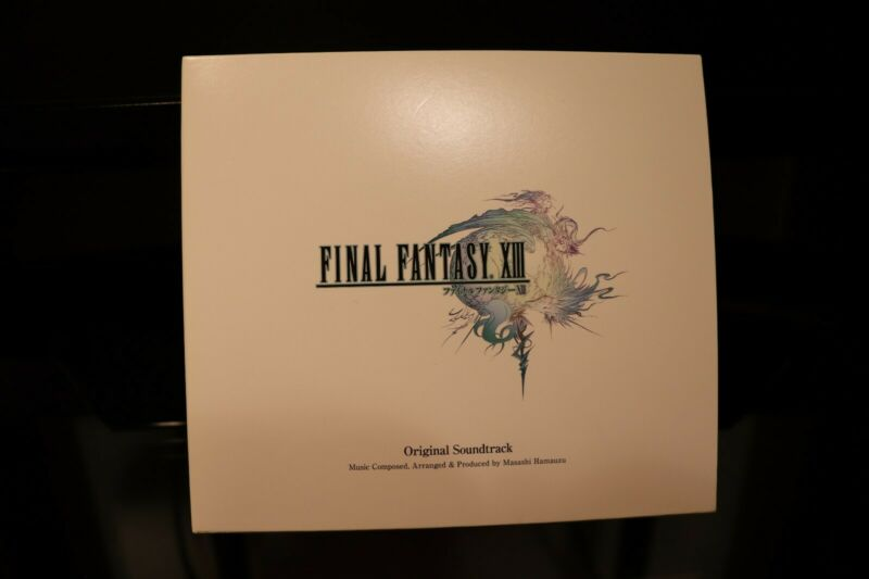 FINAL FANTASY XIII 13 Original Soundtrack CD 4 Disc Masashi Hamauzu