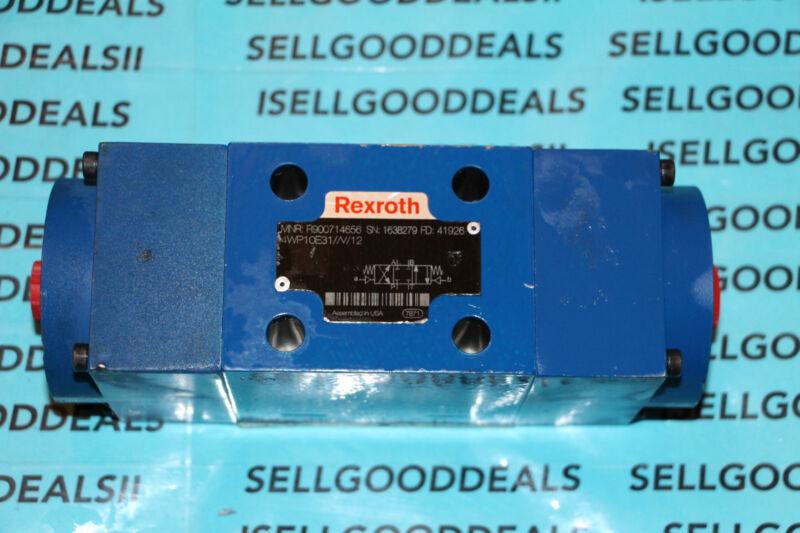 Rexroth R900714656 Directional Control Valve 4WP10E31//V/12 New
