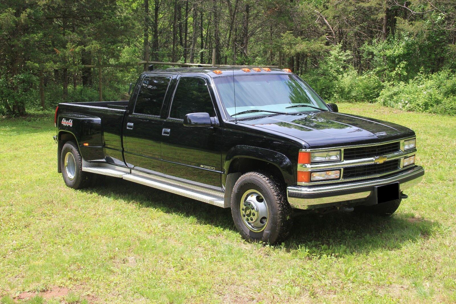 1999 chevy silverado k3500 ls crew cab used chevrolet silverado 3500 for sale in. Black Bedroom Furniture Sets. Home Design Ideas