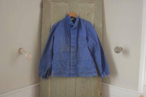 Jacket Work wear blue Coat French Farmer clothing Bill Cunningham denim 1930