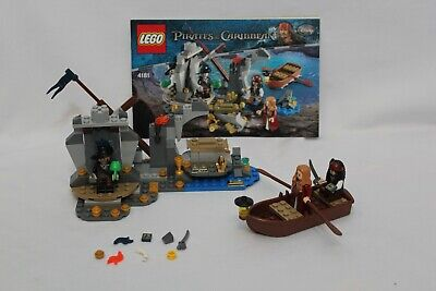 LEGO Pirates of the Caribbean Isla De la Muerta (4181) complete with manual