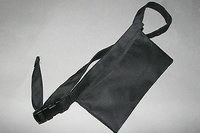 1 Black Pouch Waist Apron 9.5 X 5.5 Aprons N More Large Pocket Made In Canada