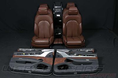 Audi A8 4H Langversion Innenausstattung Lederausstattung Massage Sitze
