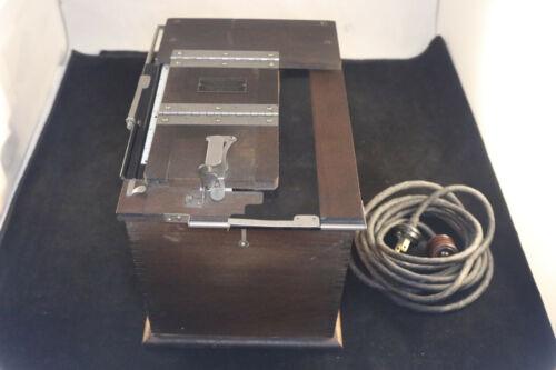 Vintage Eastman Kodak Amateur Printer Working Conditions 1900